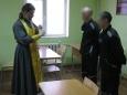 Таинство крещения совершилось в следственном изоляторе №2