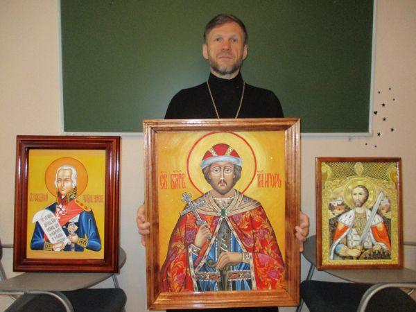 Икона «Князь Игорь», написанная осужденной исправительной колонии №12, будет представлена в Москве в финале конкурса православной иконописи «Канон»