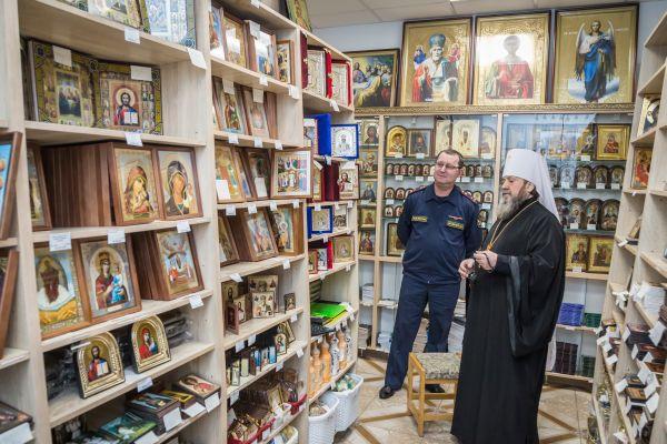 Начальник УФСИН Михаил Арсланов и митрополит Викторин обсудили вопросы дальнейшего взаимодействия